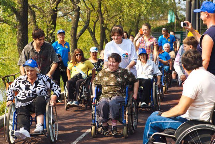 Волонтеры ВГУЭС за доступный город