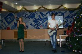 Выступление молодёжного центра ВГУЭС