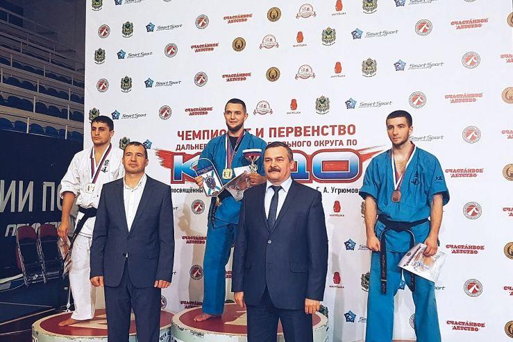 Поздравляем кудоистов нашего филиала с победами в Чемпионате и Первенстве ДФО по кудо