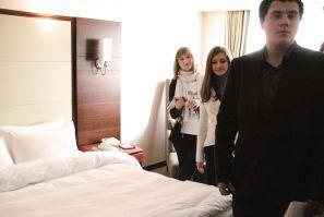 Первокурсники кафедры ТГРБ посетили с экскурсией отель «Хёндэ»