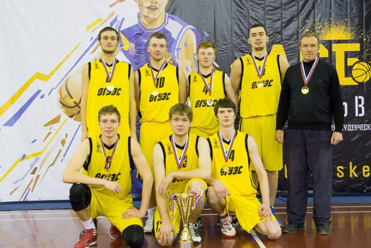 Баскетбольная команда ВГУЭС – чемпион дивизиона «Приморье»