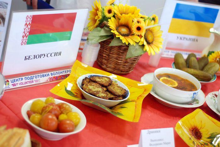 «Мамалыга», «Чак-чак», «Бигус» – во ВГУЭС прошел «Фестиваль национальных блюд»
