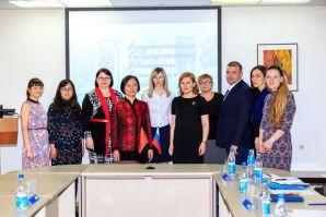 Partners from Mudanjiang Normal University visited VSUES
