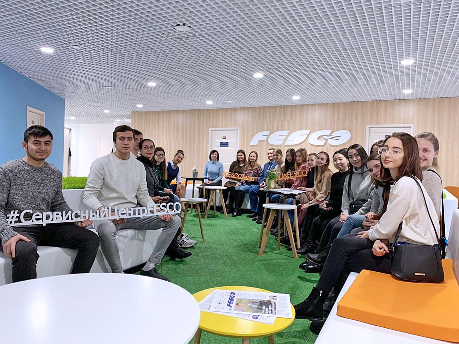 «Сервисный центр ФЕСКО» — новая площадка для прохождения практики студентов ВГУЭС
