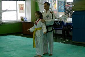 Мастер класс по Таэквон-до под руководством международного инструктора Чжон Мун Чоль