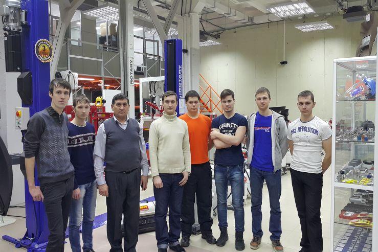С группой БЭМ-12-01 кафедры ТПТ проведено выездное занятие на базе ООО «Ориент Машинери»