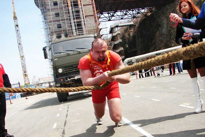 Один из самых сильных людей Владивостока учится в Профессиональном лицее ВГУЭС