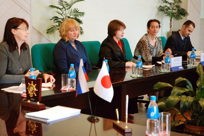 ВГУЭС укрепляет добрые отношения между Японией и Россией
