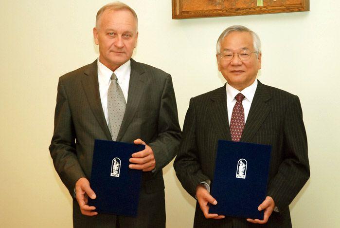 Университет окружающей среды Тоттори стал партнером ВГУЭС