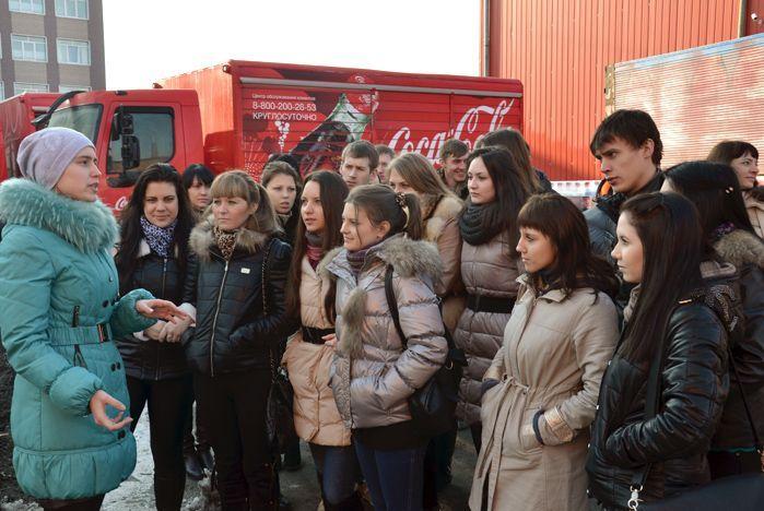 Студенты ИПУ ВГУЭС познакомились с кадровой работой компании Coca-Cola Hellenic