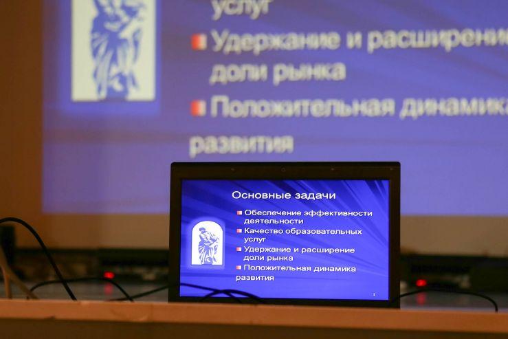 Основные задачи и приоритеты развития ВГУЭС представлены на собрании трудового коллектива