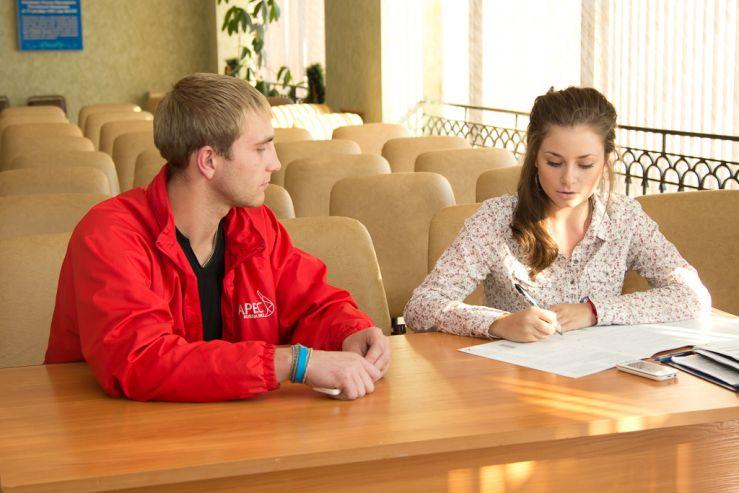 Волонтеры ВГУЭС провели выездное собеседование с кандидатами в волонтеры Игр Сочи