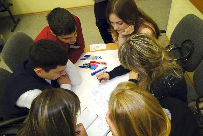 Деловая игра «Идеи без границ 2012» назвала победителей