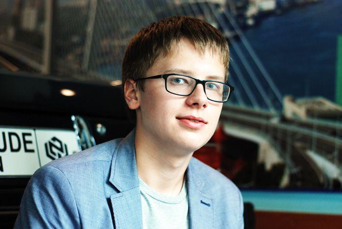 Кирилл Дышловой, студент 1-го курса Высшей школы телевидения, направление «Телевидение»