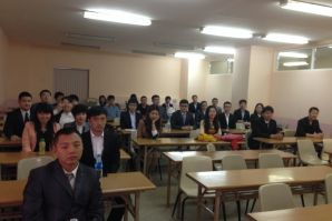 Китайские студенты кафедры менеджмента успешно сдали государственный экзамен