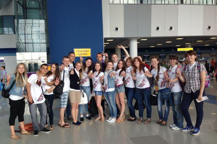 Волонтеры ВГУЭС отправились в Москву на чемпионат мира по легкой атлетике