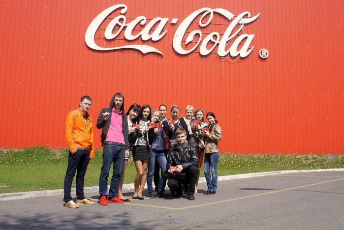 Студентам ВГУЭС провели практическое занятие на заводе «Coca-Cola HBC Eurasia»