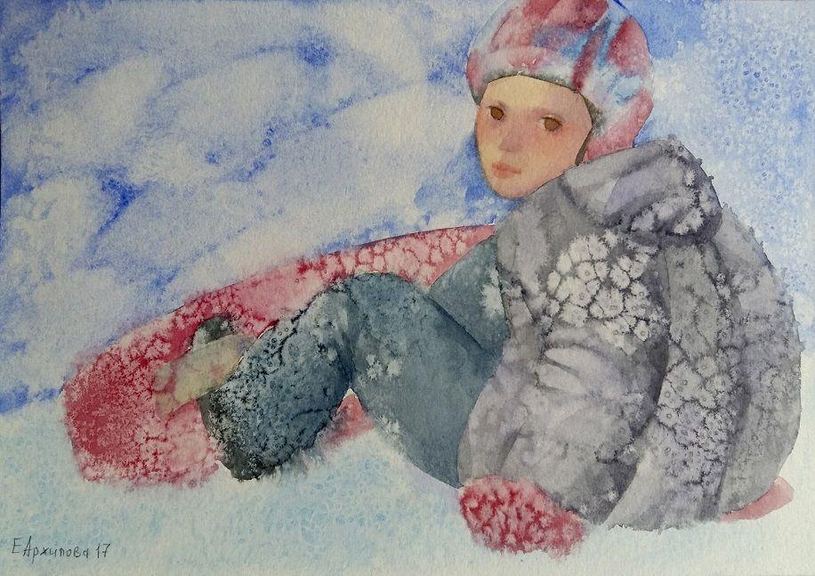 Выставка «Зимняя открытка» (живопись, графика)