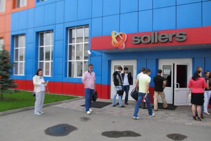 Экскурсия на завод SOLLERS