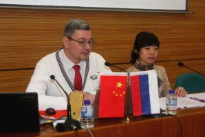 "Heilongjiang University of Technology awarded the title ""Emeritus Professor"" to VSUES Professor Alexey Mamychev"