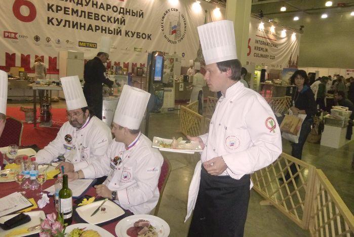 Тьютор МШГМ ВГУЭС Петр Баев стал призером VI Международного Кремлевского Кулинарного Кубка