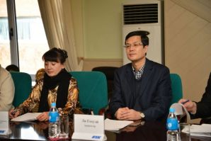 Mutually beneficial cooperation between new Chinese university-partner and VSUES