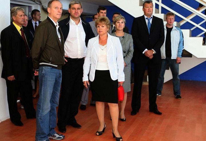 Секретарь Совета безопасности РФ и губернатор Приморья высоко оценили спортивную базу ШИОД ВГУЭС