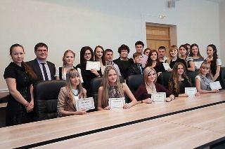 Студенты филиала ФГБОУ ВПО «ВГУЭС» в г. Находке стали стипендиатами главы Находкинского городского округа
