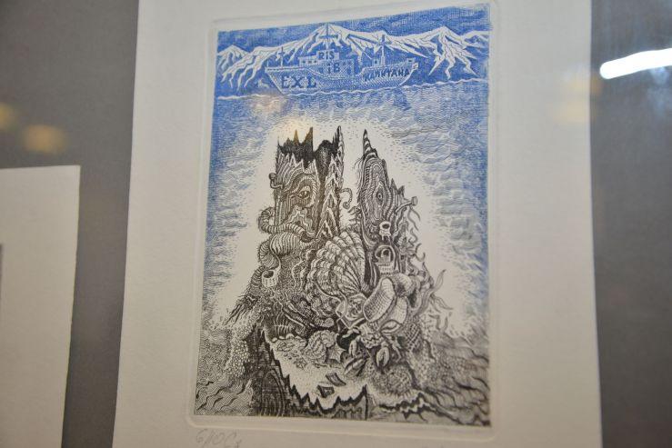 ВГУЭС приглашает на выставку графики в музей