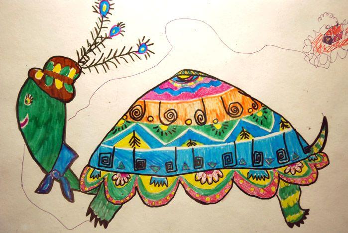 Выставка детских картин «Весенний вернисаж» открылась в музее ВГУЭС