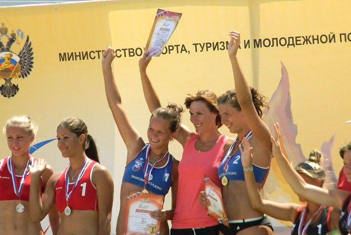 В финальных соревнованиях по пляжному волейболу в зачёт V Летней Спартакиды учащихся России спортсмены ВГУЭС взяли золото