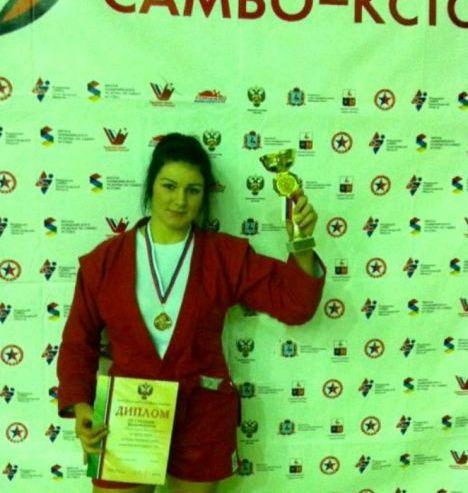 Студентка КСД ВГУЭС заняла третье место на Кубке России по самбо