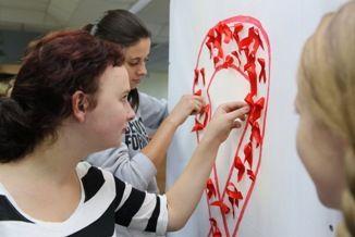 Акция «Красная лента» - знак солидарности с ВИЧ-инфицированными людьми