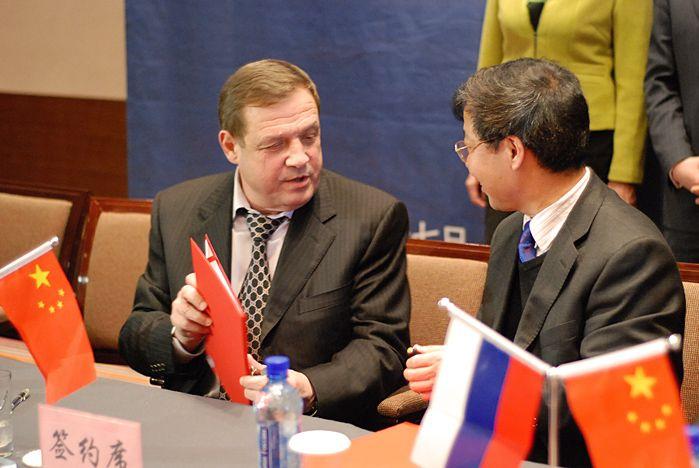Руководство ВГУЭС и представители города Муданьцзян подписали соглашения о сотрудничестве