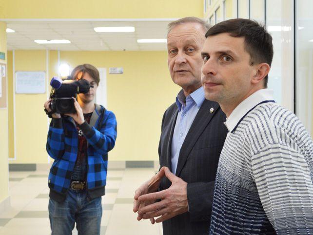 Журналисты федеральных и краевых СМИ посетили Международную лингвистическую школу.