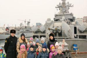 На борту флагмана Тихоокеанского флота