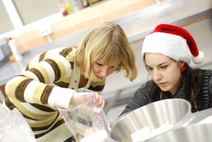 Рождественские мероприятия: кулинарные мастер-классы от иностранных преподавателей