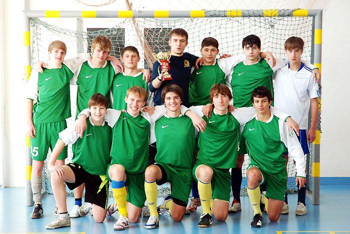 Команда «АК ВГУЭС» - чемпион Приморского края по мини-футболу