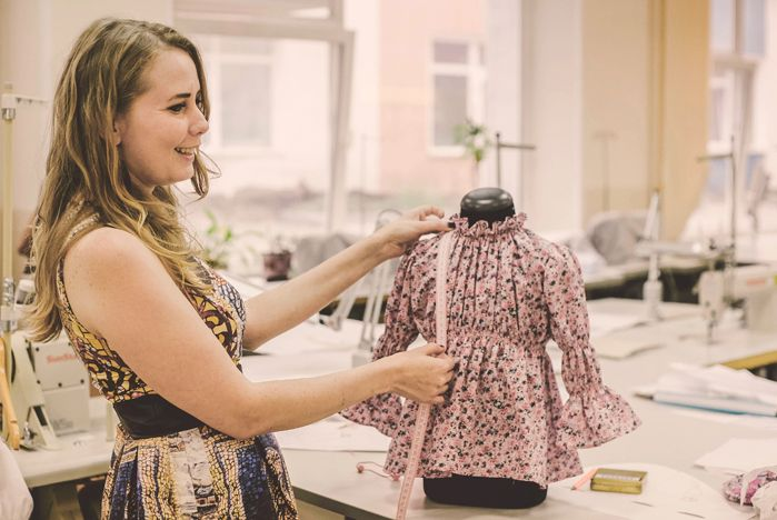 Студенты-дизайнеры ВГУЭС создают коллекцию детской одежды