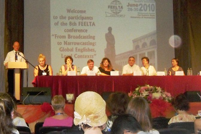 Преподаватели Института иностранных языков ВГУЭС приняли участие в работе Международной конференции «From Broadcasting to Narrocasting: Global Englishes, Local Contexts»