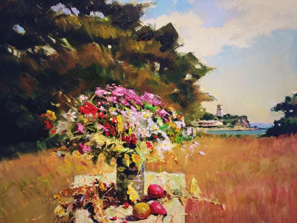 Выставка Виктора Убираева «Храм и мастерская» (живопись)