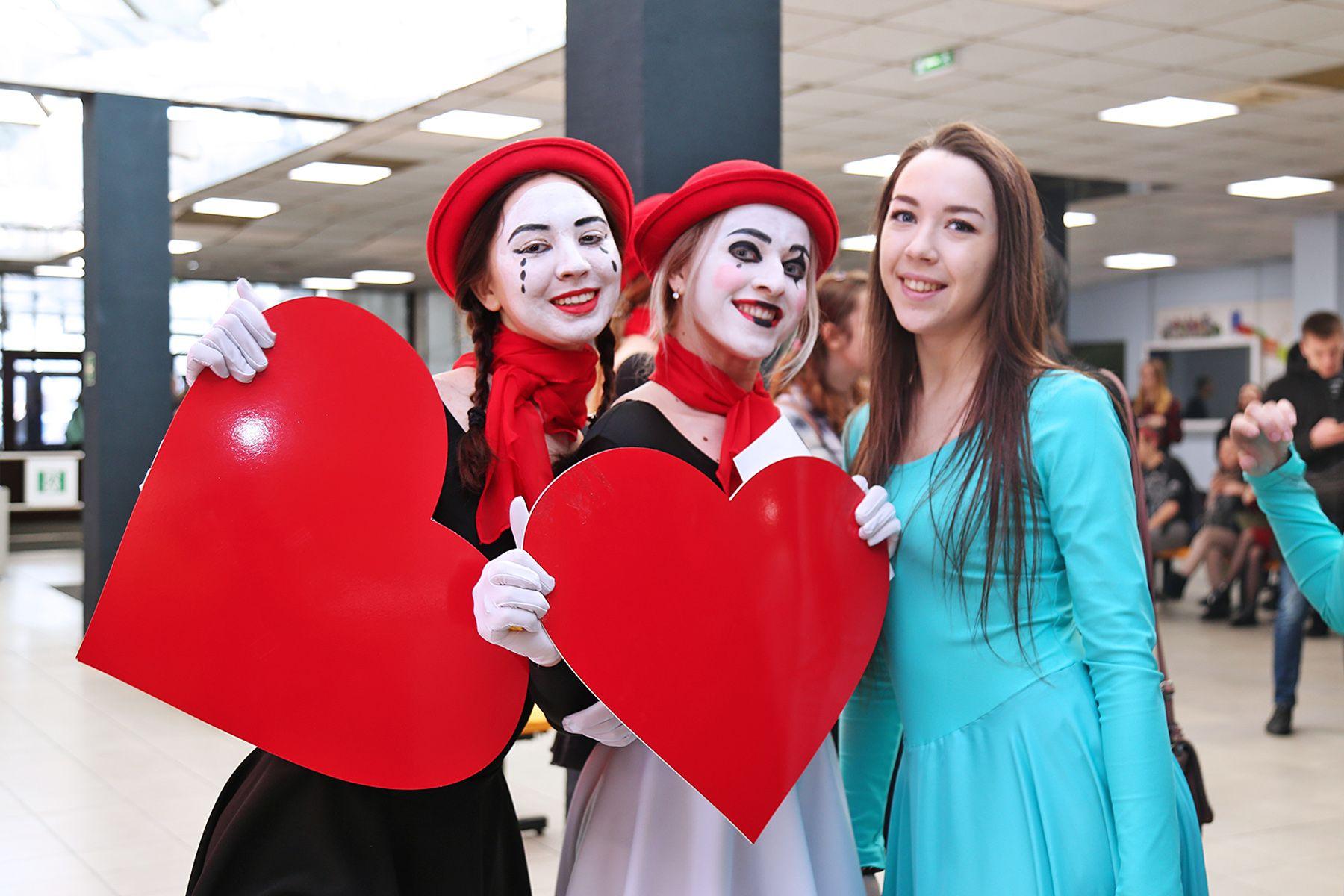 День всех влюблённых во ВГУЭС