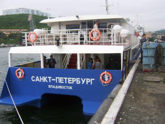 Геннадий Лазарев, ректор ВГУЭС: Катамараны, построенные к саммиту АТЭС, будут способствовать развитию морского гражданского судостроения и туристической отрасли в крае