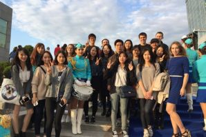 VSUES meets new international students