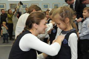 Клятву верности традициям ШИОД принесли новые ученики школы
