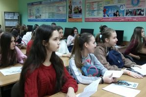 Школьники МБОУ СОШ 62 в гостях у ВГУЭС