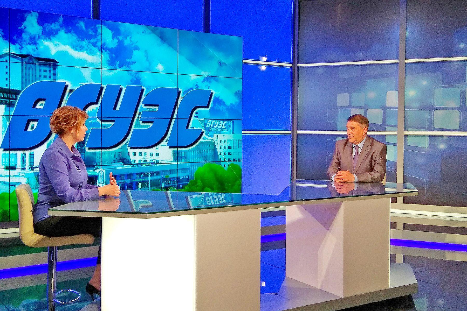 Ректор ВГУЭС Татьяна Терентьева в эфире телеканала «Россия 24. Приморье»