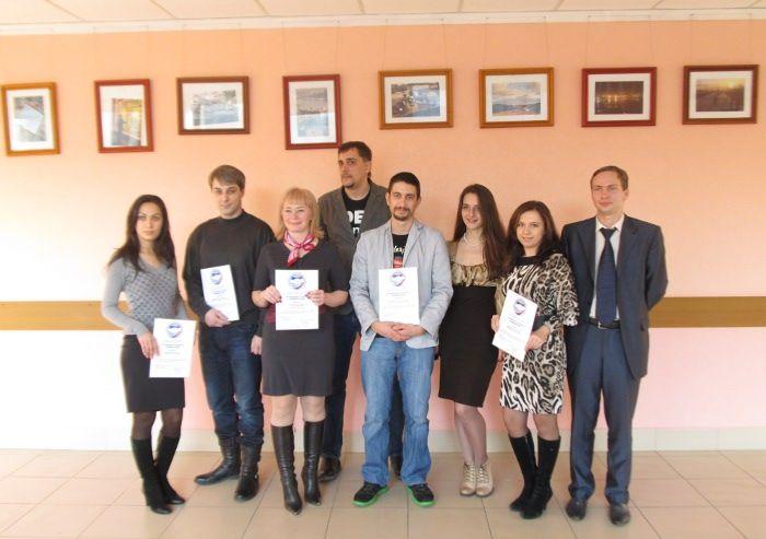 Церемония награждения победителей конкурса «Лучший молодой предприниматель 2012»