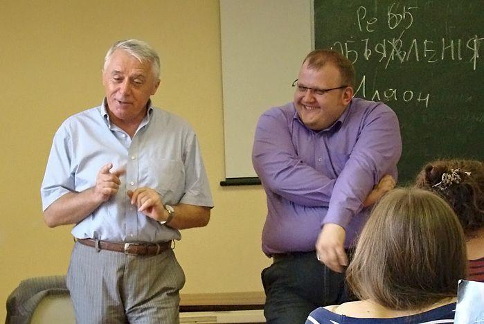 Генеральный директор ОТВ-Прим встретился со студентами Высшей школы телевидения ВГУЭС