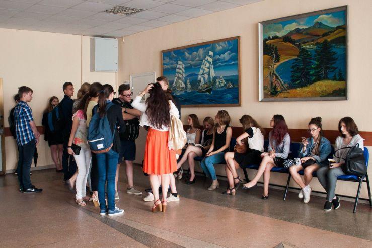 Абитуриенты устроили аншлаг в Высшей школе телевидения ВГУЭC